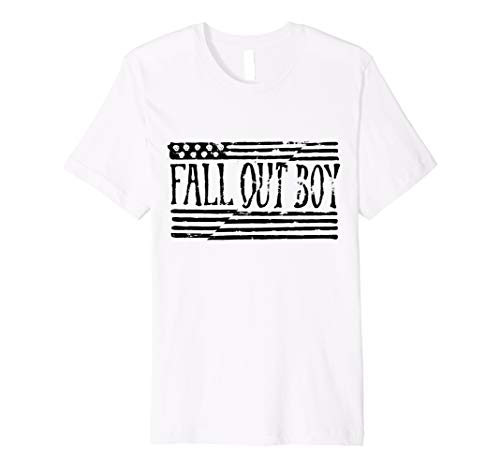 Herren Fall Out Boy - Split Flag Tee - Flag Fall Boy Shirt Out