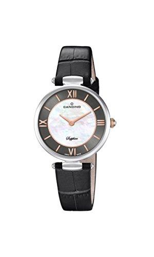 Candino Reloj Análogo clásico para Mujer de Cuarzo con Correa en Cuero C4669/2