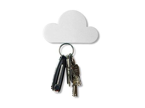 Mawibo Schlüsselwölkchen | Schlüssel Organizer Wolke magnetisch in weiß | türkis | rosa | der etwas andere Schlüsselkasten | Schlüsselbrett | Schlüsselhalter