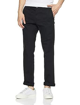 Amazon Brand - Symbol Men's Regular Fit Cotton Casual Trousers