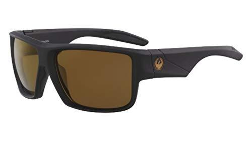 Dragon Sonnenbrille Matte Black H2O Polarisiert Kupfer DEADLOCK 38642-004 - Für H2o Dragon Männer Sonnenbrille