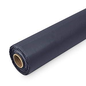 BMD PE Baufolie TYP 100 schwarz 4mx25m (100m²) Schutzfolie Abdeckfolie Estrichfolie Bauplane
