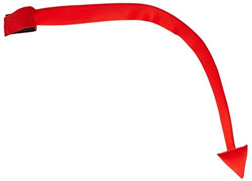 Widmann-Schwanz Teufel Modelliermasse unisex-adult, Rot, 88cm, vd-wdm04117 (Rote Teufel Kostüm Zubehör)