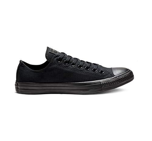 Converse Chuck Taylor All Star, Unisex - Erwachsene Sneaker, Schwarz (Black Mono), Gr.41 EU -