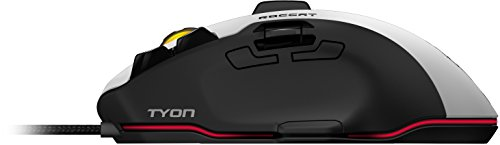 Roccat Tyon All Action Multi-Button Gaming Laser-Maus (8200dpi, 14-Tasten, USB) weiß - 9