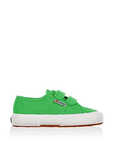Superga 2750 Jvel Classic, Sneakers Basses mixte enfant Bright Green