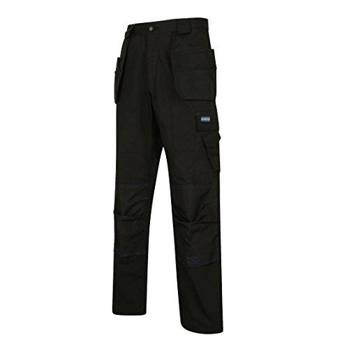 Pantaloni da lavoro Reg Taglia 36/36nero/blu royal