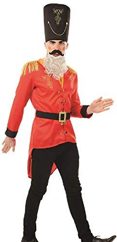 Fancy Me Weihnachtliches Nussknacker-Spielzeug, Soldat Trommler Jungen, Weihnachten, Festliches Kostüm, Outfit, Größe M, L, XL