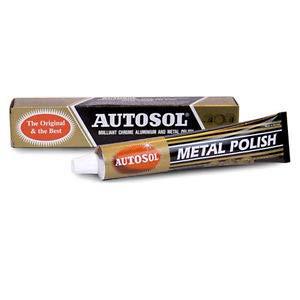 3x AUTOSOL Metal Polish Edel Chromglanz Metall Politur Chrompolitur 75 ml