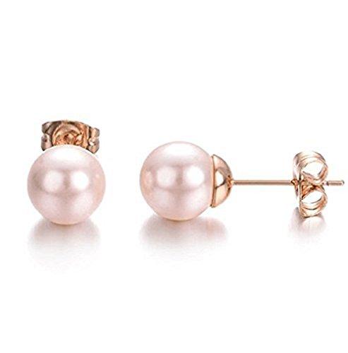 ff5e8f3157df Mimei-Pendientes-Perlas-Mujer-Pendientes-Oro-Rosa-18k-