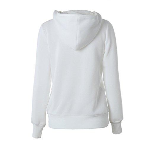 Transer - Pull - Femme beige beige Blanc