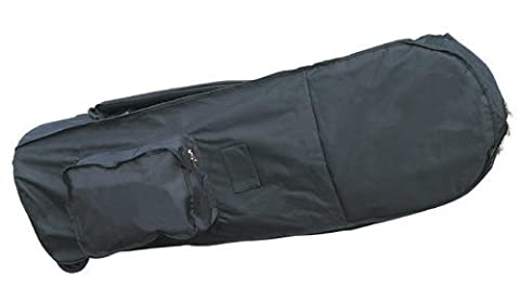 Masters Deluxe Flight Coverall with wheels - Black by