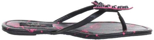 Iron Fist Skellicorn Flat Sandal 611755, Sandali infradito donna Nero (Schwarz (black))