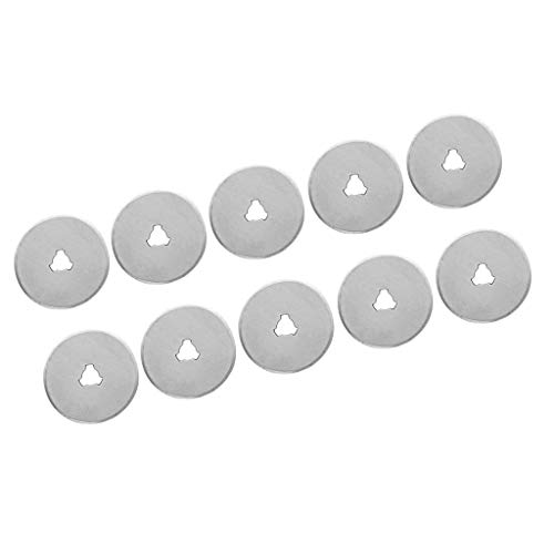 FLAMEER Ersatzklingen für Rollschneider Rotary Blade Quilt, ø 28mm