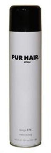 Pur Hair - hairspray design F/X extra strong Feuchtigkeitsbeständiges Haarspray für ein langanhaltendes Finish - 600 ml