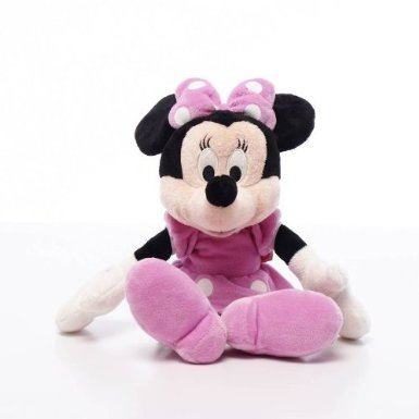 Image of Minnie Mouse 8 inch plush soft toy Posh Paws Disney