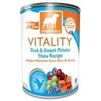 Dogswell Vitality Canned Dog Food Case Duck by Dogswell