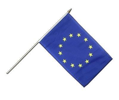 MaxFlags® drapeau avec manche Union européenne UE 30x45cm