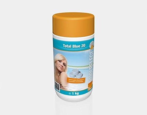 Steinbach Poolchemie, Total Blue 20 g, weiß, 10x10x20 cm, 0752301