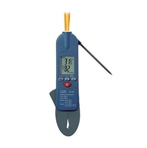 3 in 1 Klemme, Sonde & Infrarot-Thermometer für Legionella-Wassertest-Programme, Klempner, Klimaanlage und Service Engineers
