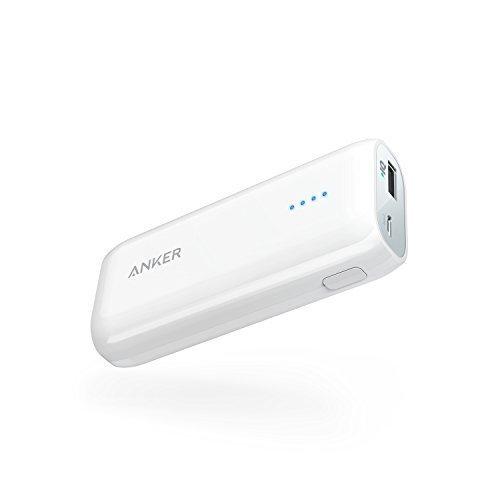 Batterie Externe Anker Astro E1 6700mAh ultra-compacte avec technologie PowerIQ, pour iPhone X / 8 / 8 Plus / 7 / 7 Plus / 6S / 6S Plus / 6 / 5S / 5C, iPad 4 / Air, Samsung Galaxy S5 / S4, Nexus, HTC et autres
