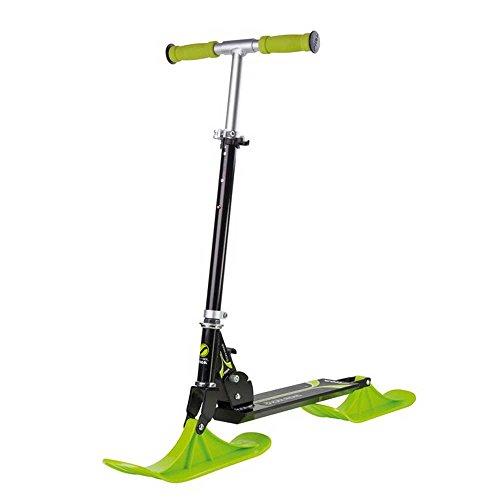 STIGA Snow Kick für Gleiten im Schnee schwarz lime Fahrrad