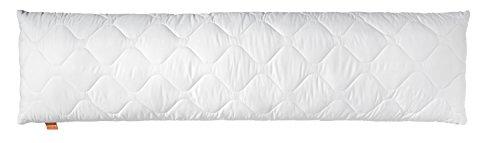 Sleepling Comfort 195866 Almohada de Microfibra 40 x 105 cm, Blanco