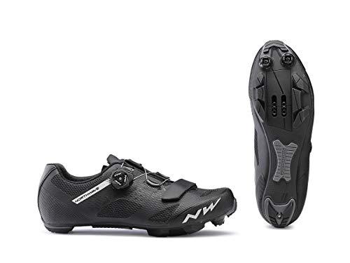 Northwave Razer MTB Fahrrad Schuhe schwarz/weiß 2019: Größe: 43