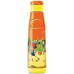 Milton School Water Bottle for Kids / Boys / Girls Stylish Kool Fun 900 704 ml 81mm diameter 302mm Height (Orange)
