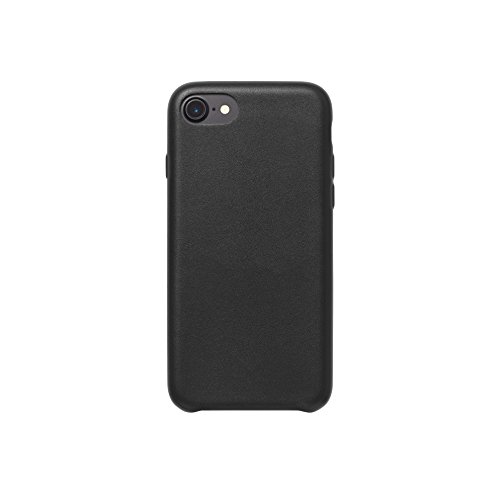 AmazonBasics - Custodia in PU Sottile per iPhone 7, Nero
