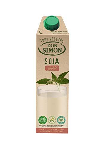 Don Simon Bebida de Soja Light - Paquete de 6 x 1000 ml - Total: 6000 ml