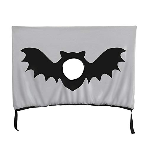 tulipuk Halloween-Sonnenschutz-Vorhang für Heckscheibe, für Hunde