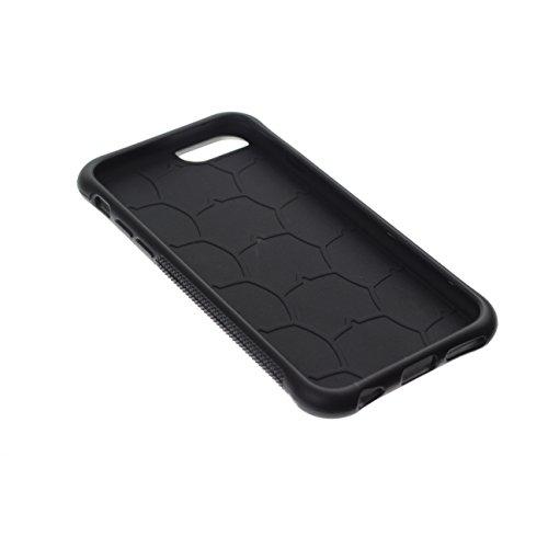 Graphic4You Praline Schokolade Design Shockproof Anti-Rutsch Weichen Hülle Case Tasche Schutzhülle für Apple iPhone 6 / 6S Design #4