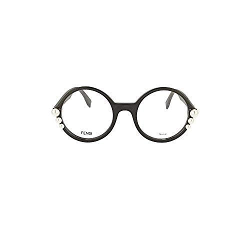 Occhiali da vista fendi ribbons and pearls ff 0298 black donna