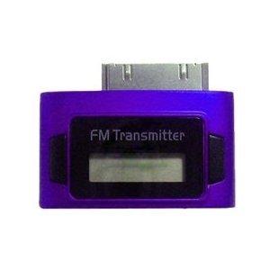 Exeze Pico 5 FM Transmitter für iPhone, iPod Nano, iPod Touch, iPod Classic - Sehr klein - Keine Kabel oder Batterien erforderlich - Violett -