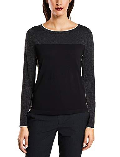 Street One Damen Pullover 300780, Black, 42