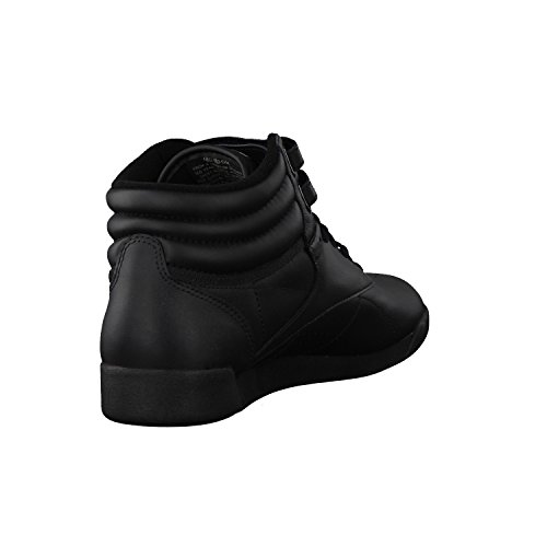 Reebok Freestyle Damen Hohe Sneakers int-black