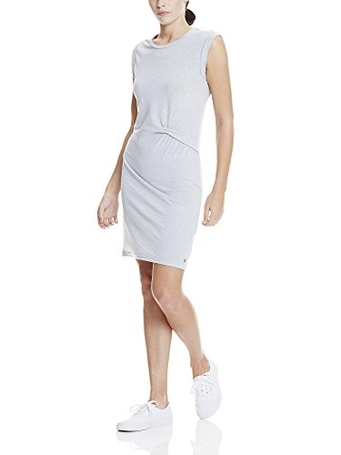 Bench Draped Knot Jersey Dress, Robe Femme Grau (SUMMER GREY MARL MA1026)