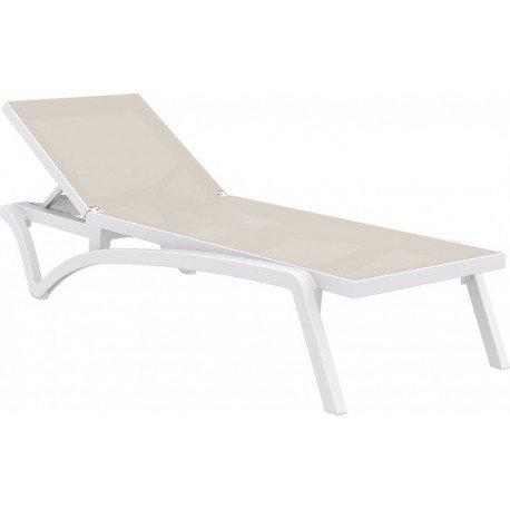 Relax Textilene Capri Resol sho1032077-lote de 4 chaises CRUDO 1032
