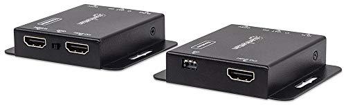 Manhattan HDMI over Ethernet Extender Kit (HDMI-Signalverlängerung (1080p bis zu 50 m) über ein Cat6-Netzwerkkabel / Infrarot-Unterstützung ) 207461 1080p-hdtv-extender-kit