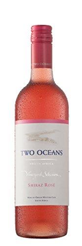 6x 0,75l - 2015er - Two Oceans - Vineyard Selection - Shiraz Rosé - Western Cape W.O. - Südafrika - Rosé-Wein trocken