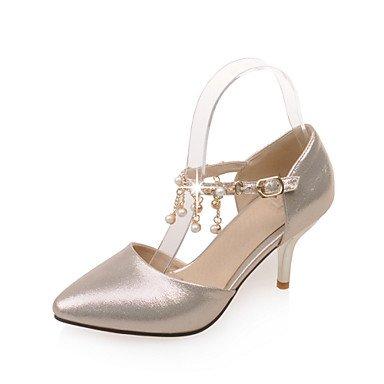 Zormey Women'S Shoes Stiletto Heel/D'Orsay & Amp Zweiteilige/Schuhe Heels Party & Amp Abends/Kleid Rosa/Silber/Gold US1.5 / EU31 / UK0.5 / CN30