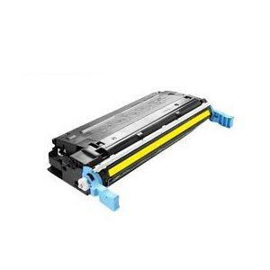 Eurotone Laser Toner Cartridge Yellow remanufactured für HP Color Laserjet 4600 4600DN 4600DTN 4600HDN 4600N + 4610 4610N + 4650 4650DN 4650DTN 4650HDN 4650N - kompatibel ersetzt C9722A Gelb -