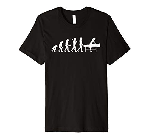 Physiotherapie T-Shirt Evolution Physiotherapeut