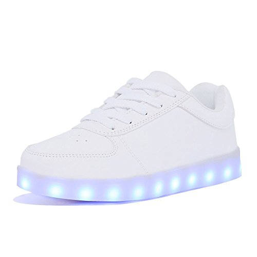 Nice-Sport-zapatillas-con-7-Colores-Unisex-carga-USB-LED-luminoso-con-certificado-CE