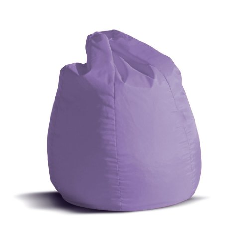 Pouf-poltrona-sacco-piccola-BAG-Jive-tessuto-tecnico-antistrappo-lilla-imbottito-Avalon