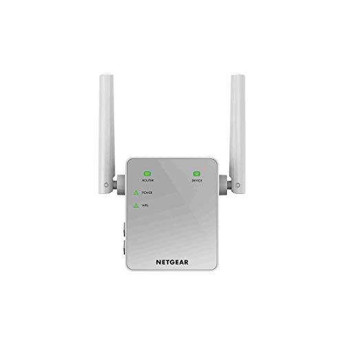 NETGEAR EX3700-100PES Répéteur Wi-Fi AC750 Mbps Blanc - 1 Port Ethernet - compatible avec toutes les Box internet