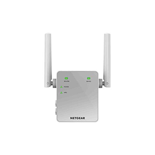 Netgear EX3700 Ripetitore WiFi, Range Extender Universale, Access Point, Antenne Esterne, AC Dual Band, 750 Mbps