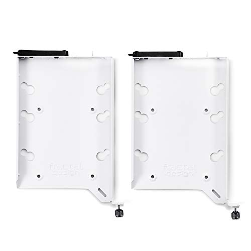 Fractal Design Festplatteneinschub-Set Typ A, Weiß, 2 Stück