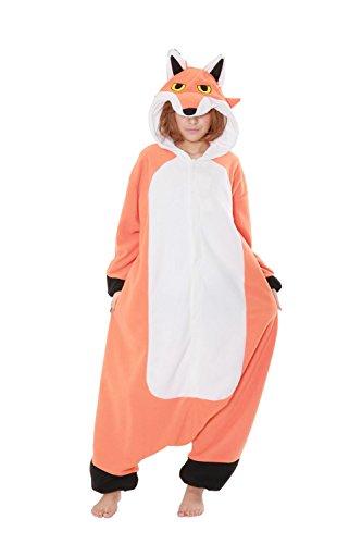 Fleece Pyjama Kigurumi - Roter ()